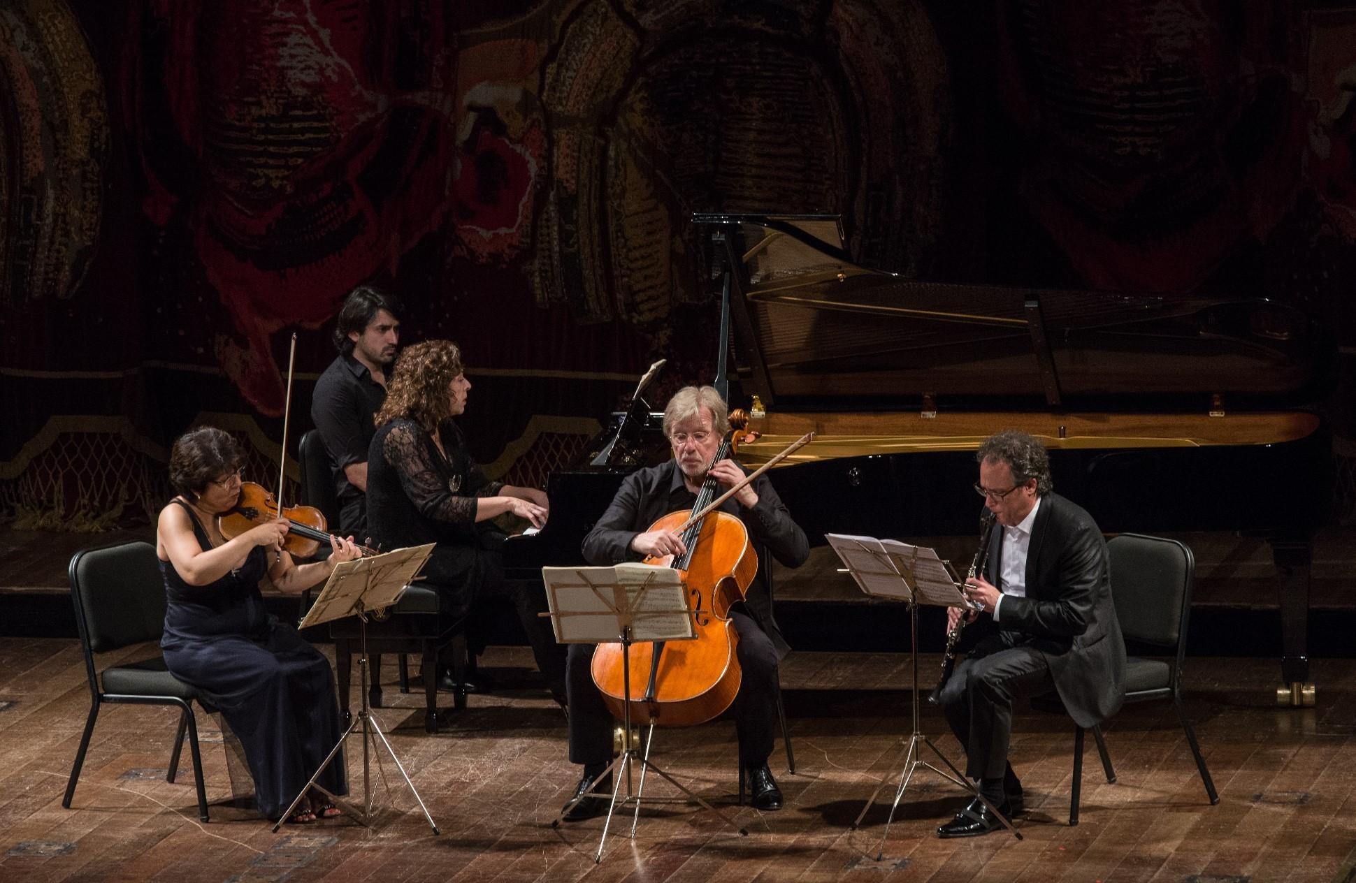 Concierto del Jerusalem Chamber Music Festival en Buenos Aires