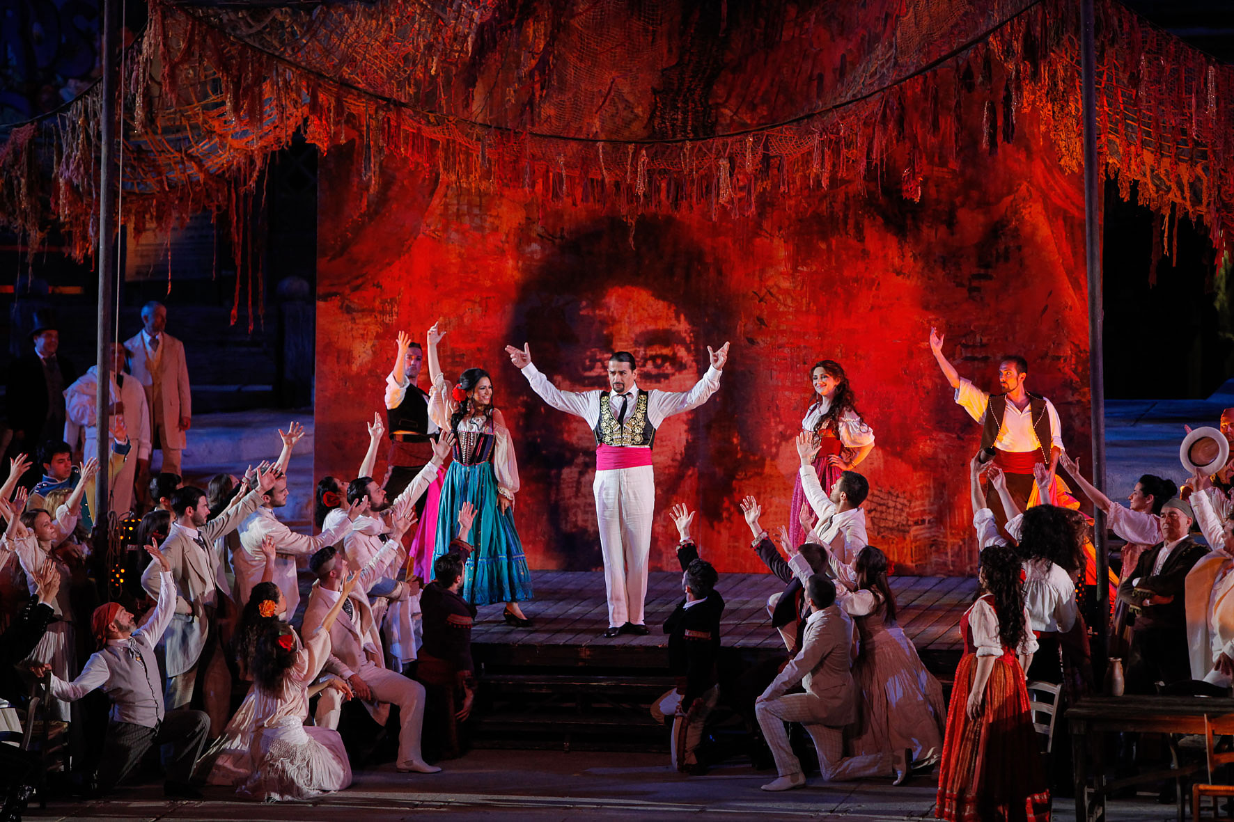 Carmen firmata da Franco Zeffirelli inaugura la Arena Opera Festival di Verona