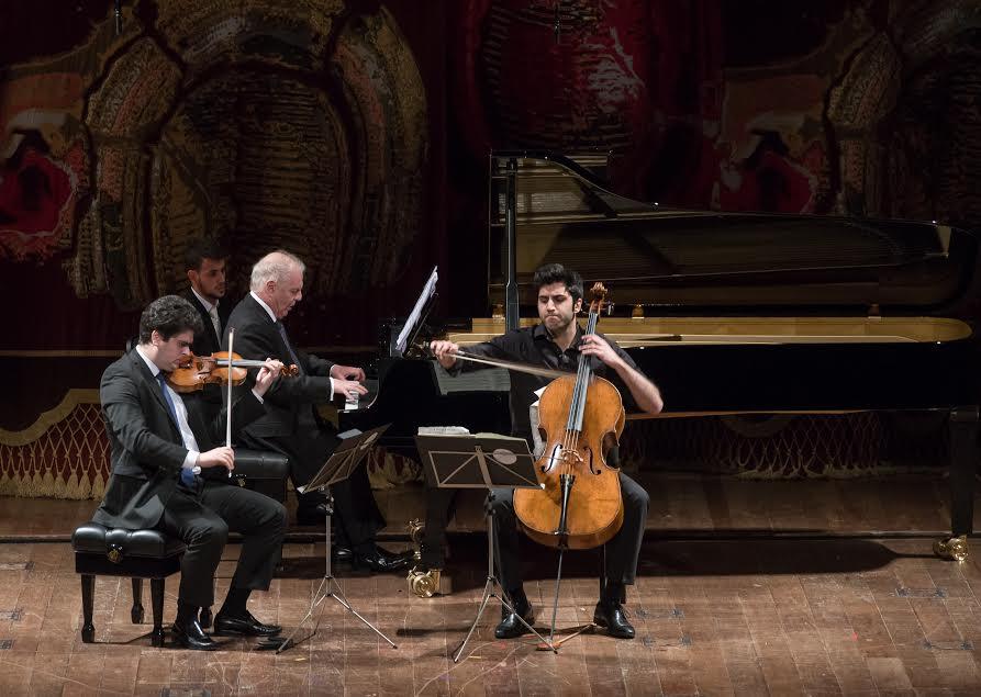 Concierto de cámara con Daniel Barenboim en Buenos Aires