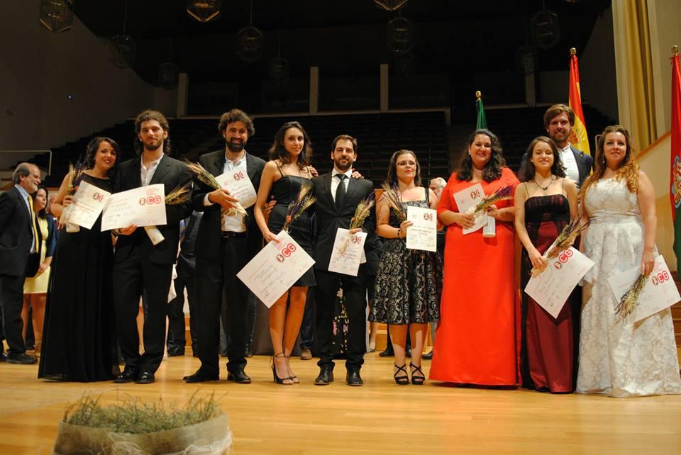 Resolución del I Concurso Internacional de Ópera Mozart de Granada