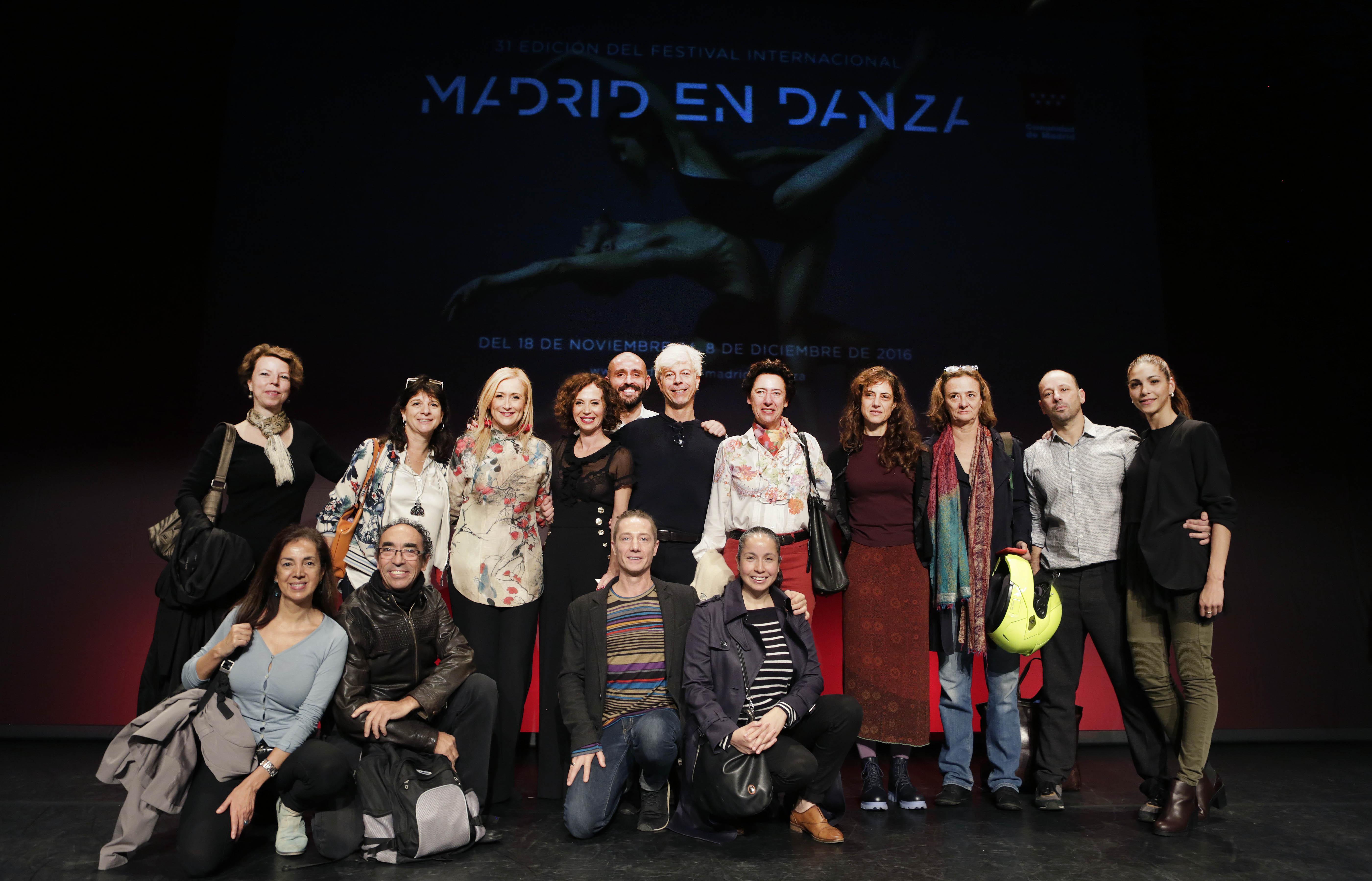 Presentación de la XXXI Edición del Festival Internacional Madrid en Danza 2016