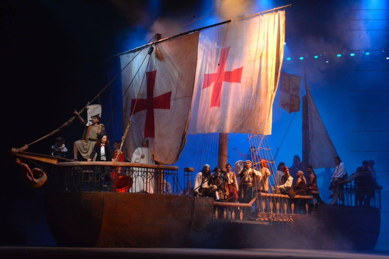 Los martirios de Colón
