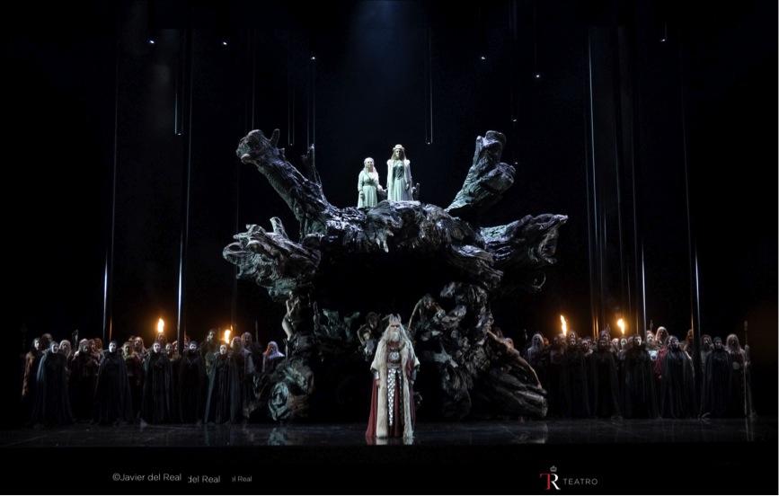 Norma en el Teatro Real: Foto: Javier del Real