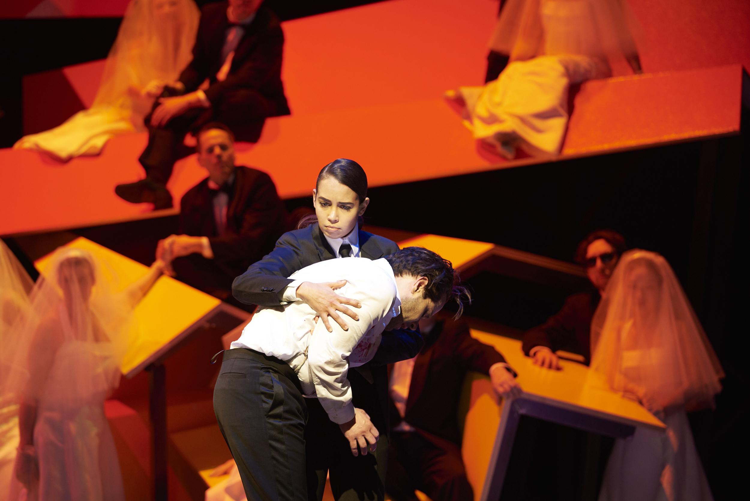 Berlin SO: Orfeo contratenor en una buena producción. Foto: M. Baus