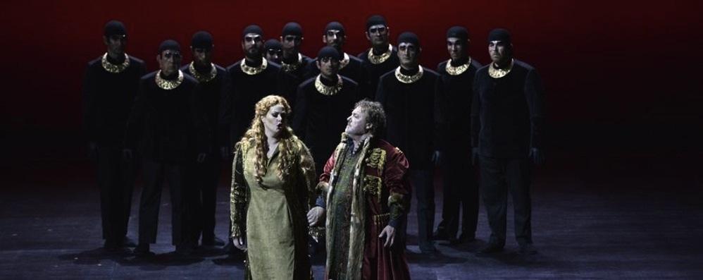 Rosmonda D'Inghilterra de Donizetti en Bérgamo