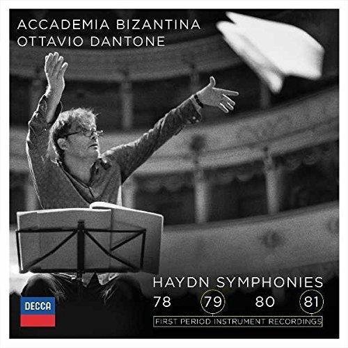 Haydn symphonies 78-81
