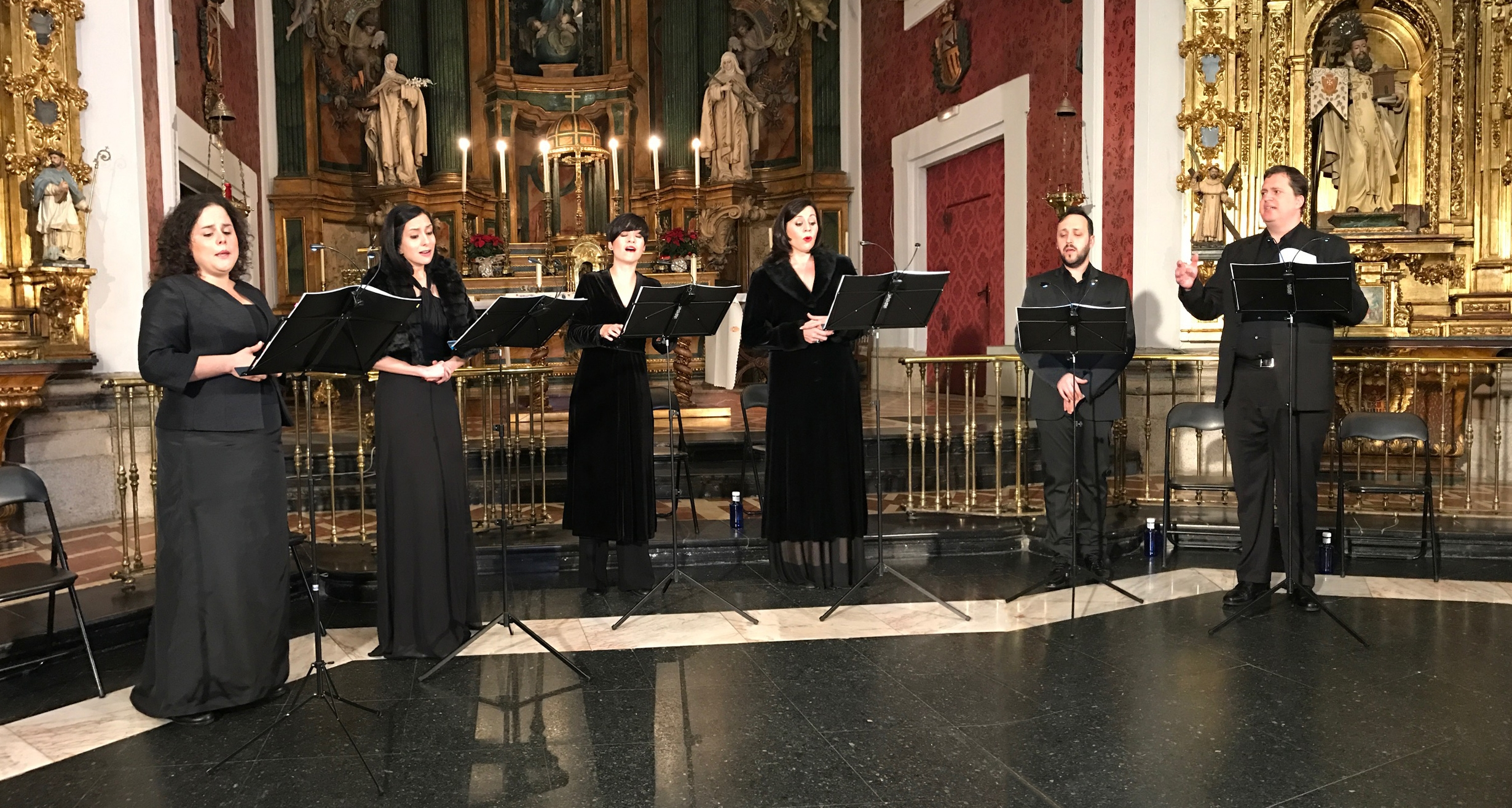 Magistral concierto del Coro Gradualia de la obra de Manuel Cardoso