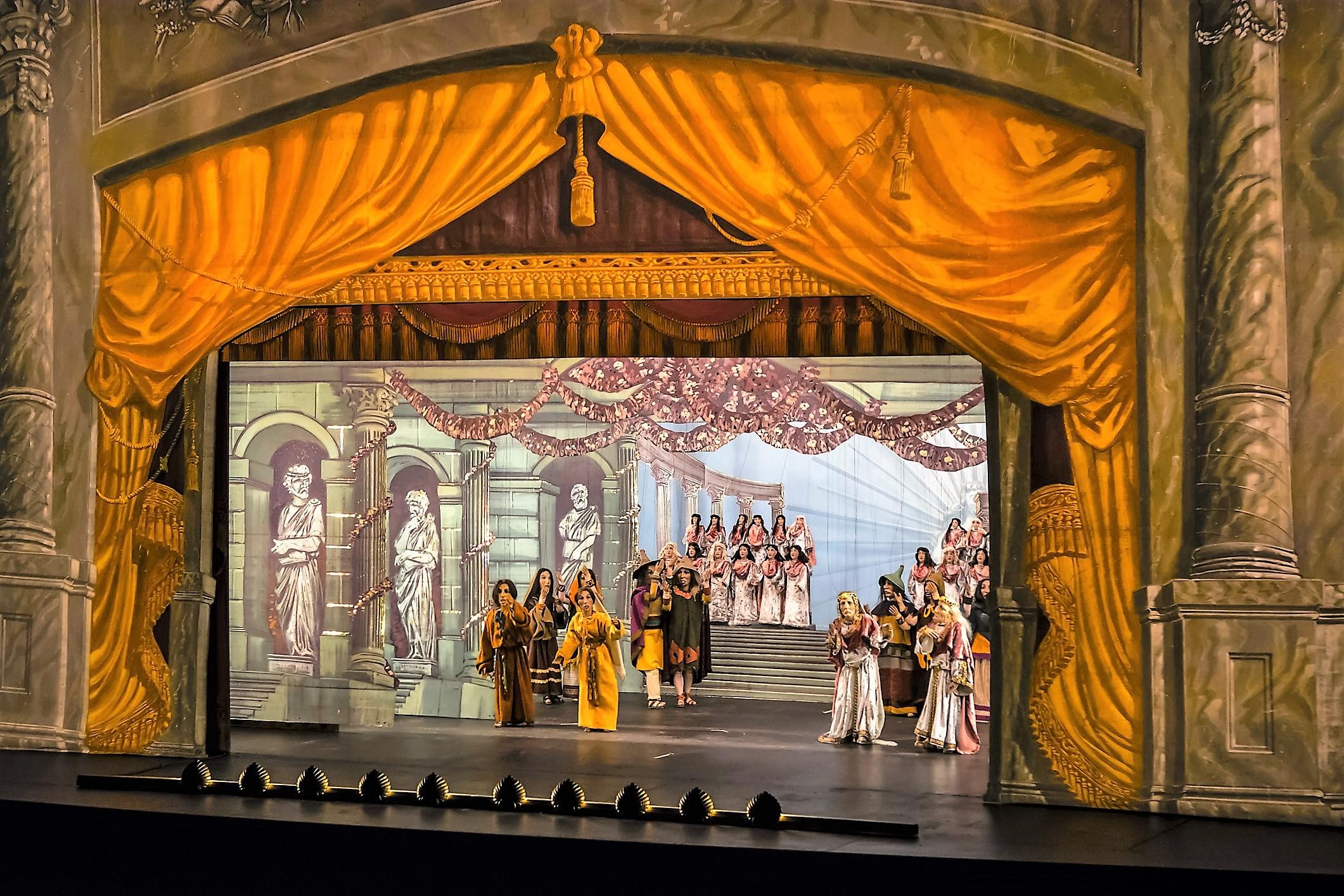 Philemon und Baucis de Haydn en Les Arts