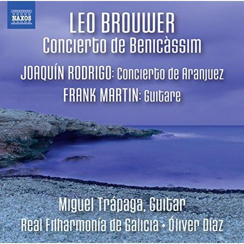 Brouwer, Rodrigo y Martin: el exquisito protagonismo de la guitarra