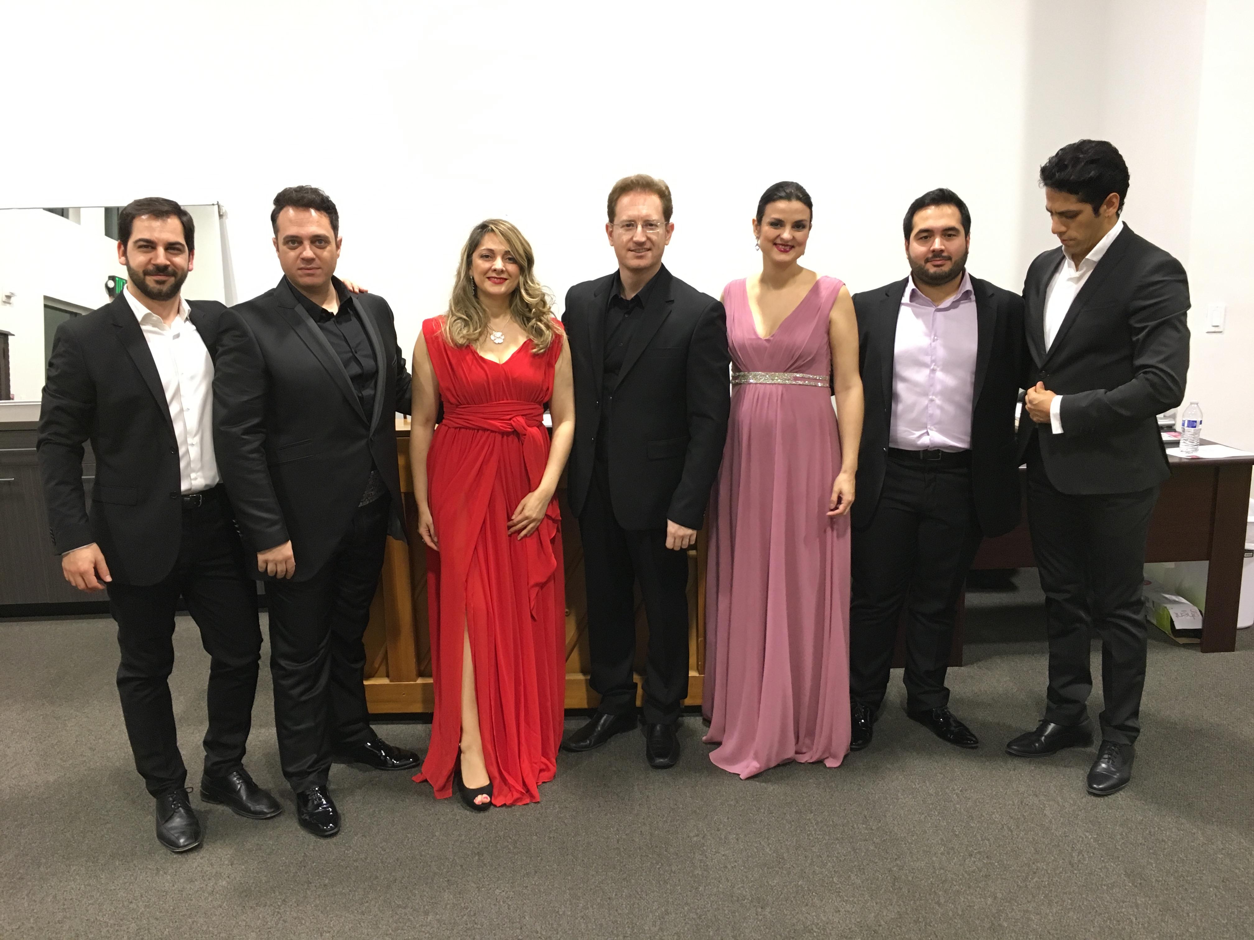 Opera Studio de Renata Scotto en Naples