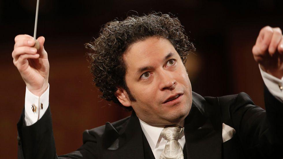 Gustavo Dudamel hace historia en el concierto de Año Nuevo con la Filarmónica de Viena