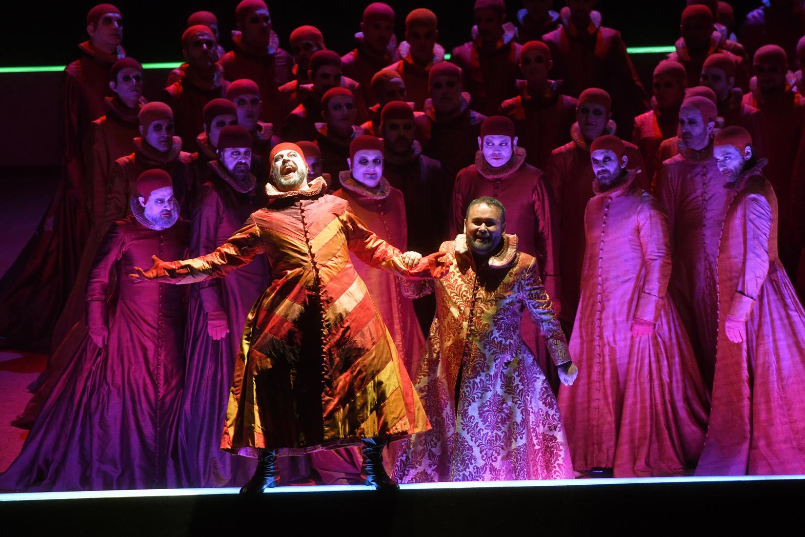 Rigoletto en el Liceu ®Antoni Bofill.