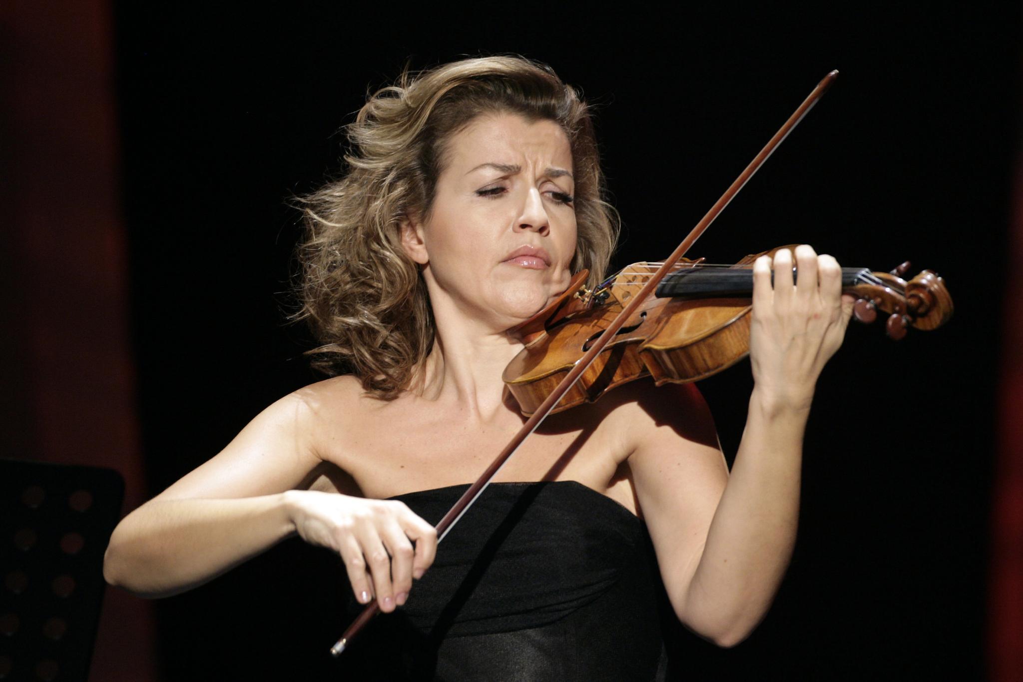 Anne Sophie Mutter y Pablo Ferrández, mano a mano de Stradivari en el Auditorio nacional