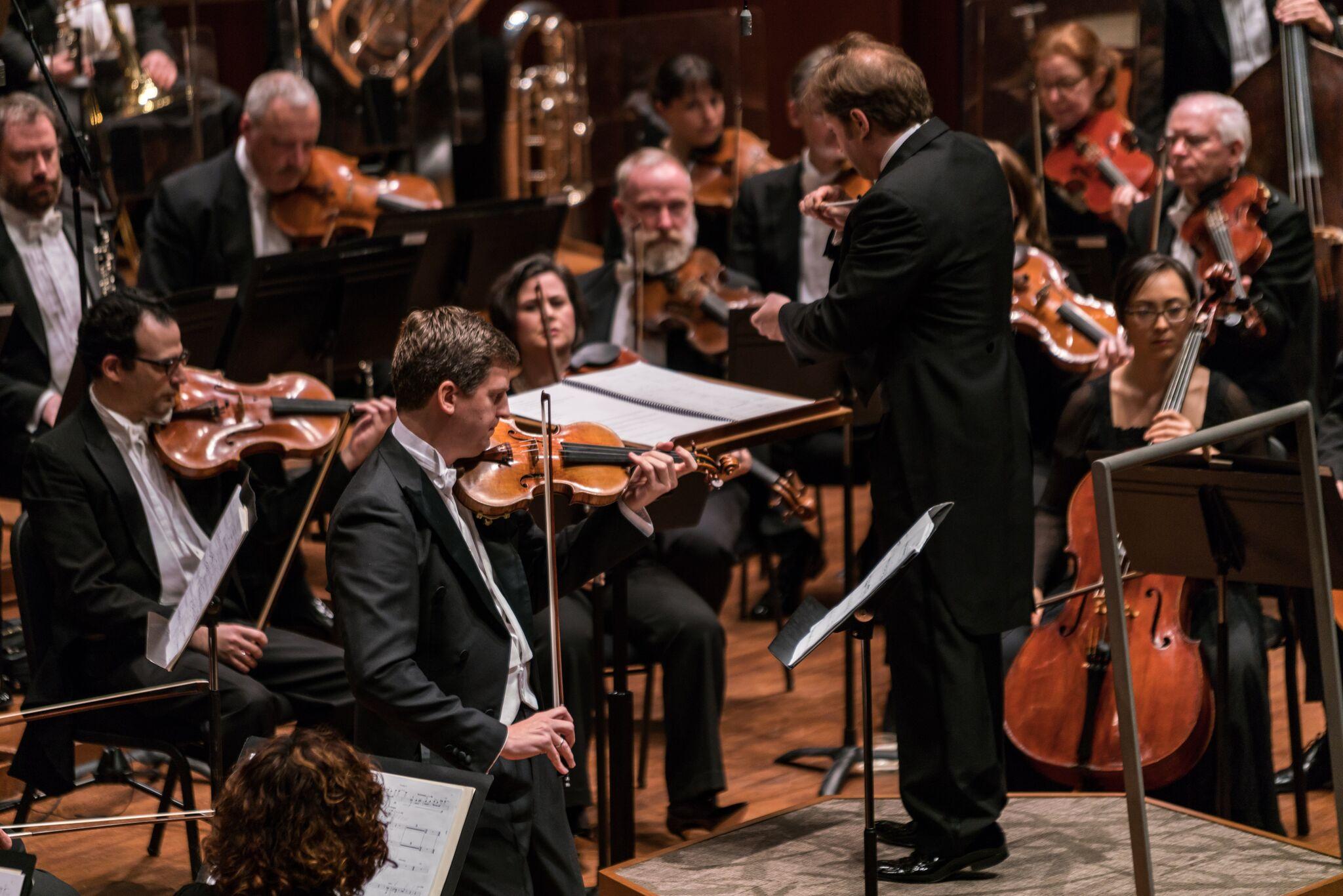 Concierto para Violín de Kernis. Foto: Seattle Symphony