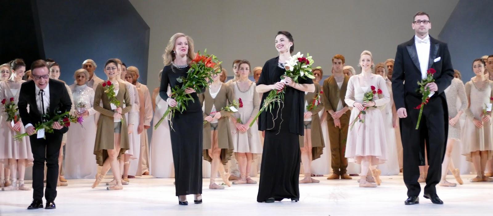 Pendant la Semaine Sainte, l'Opéra de Wroclaw présente une version dansée du Requiem de Mozart