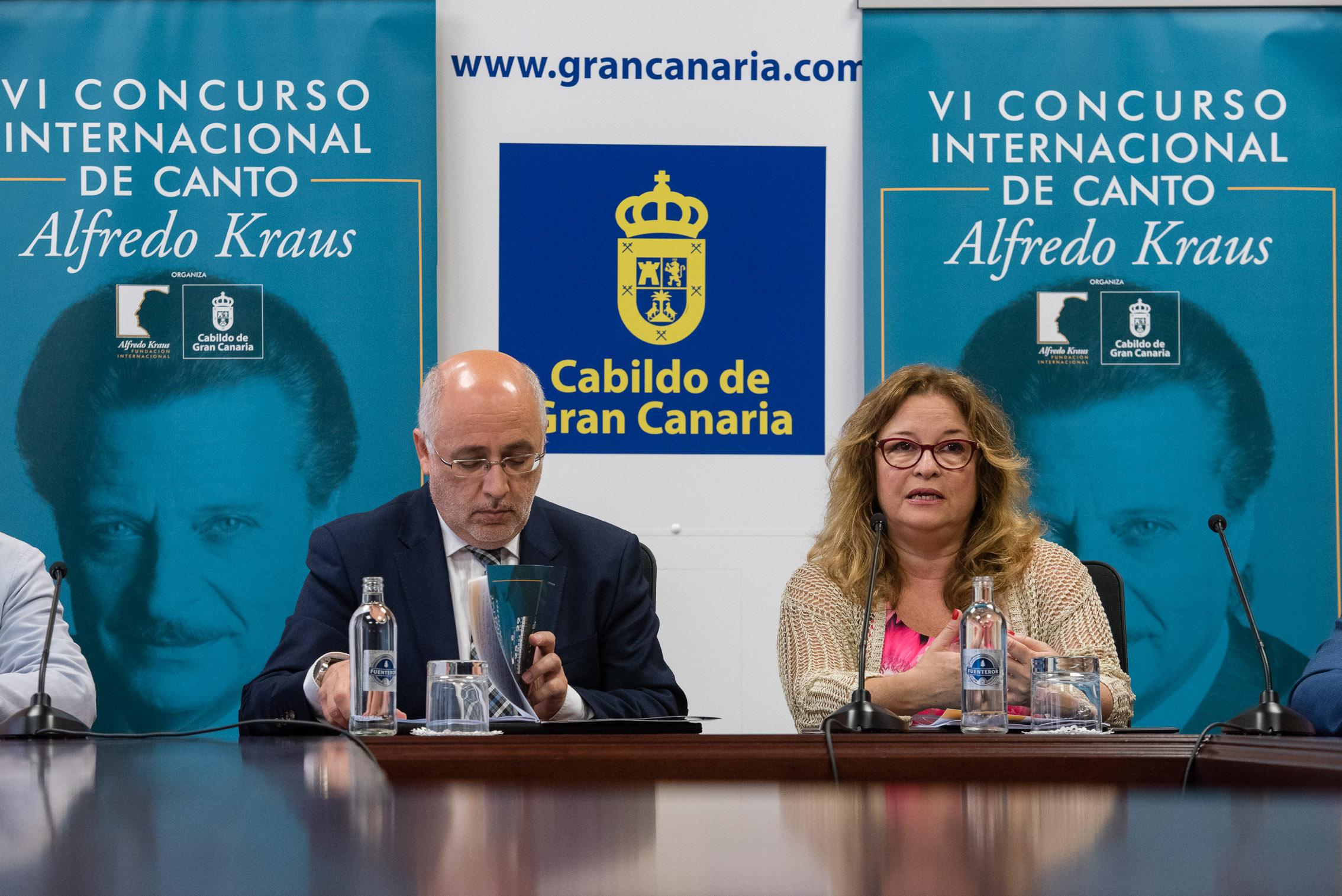 """Presentación """"VI Concurso Internacional de Canto Alfredo Kraus. 19 de mayo de 2017. La Palmas de Gran Canaria"""