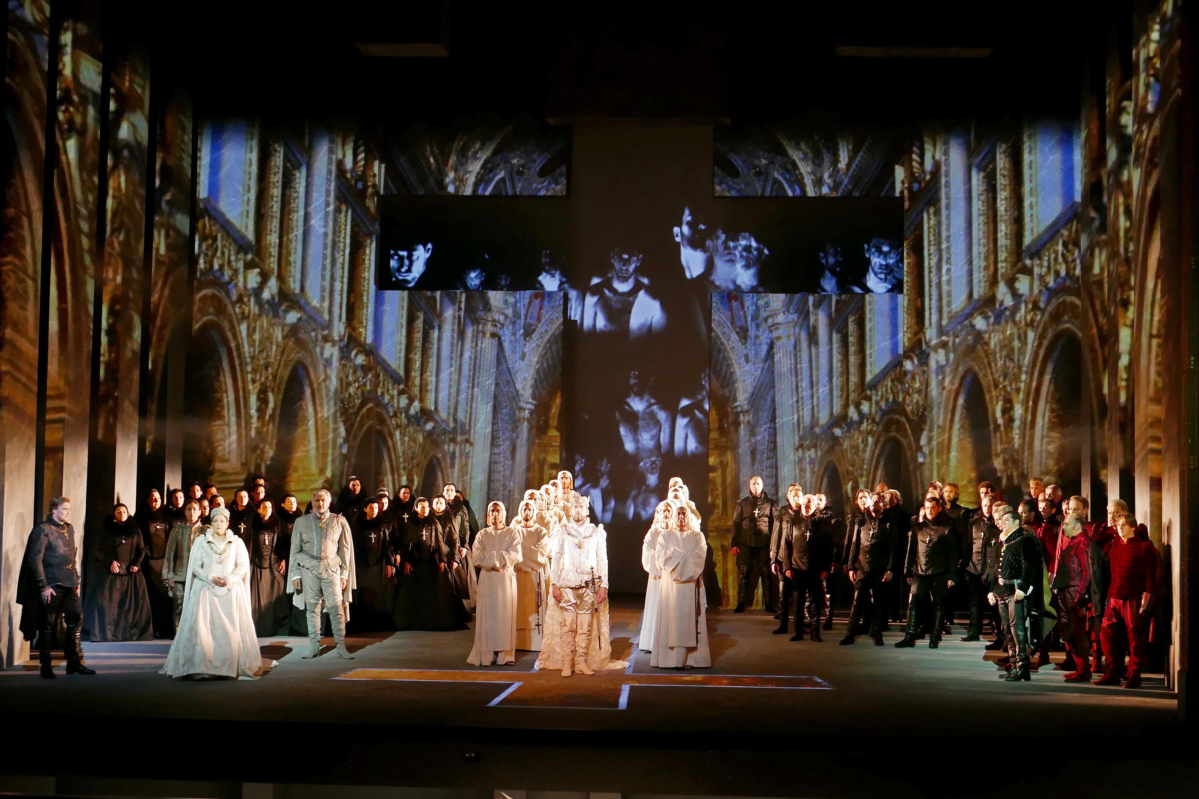 Don Carlo à l'Opéra de Marseille. Photo: Christian Dresse