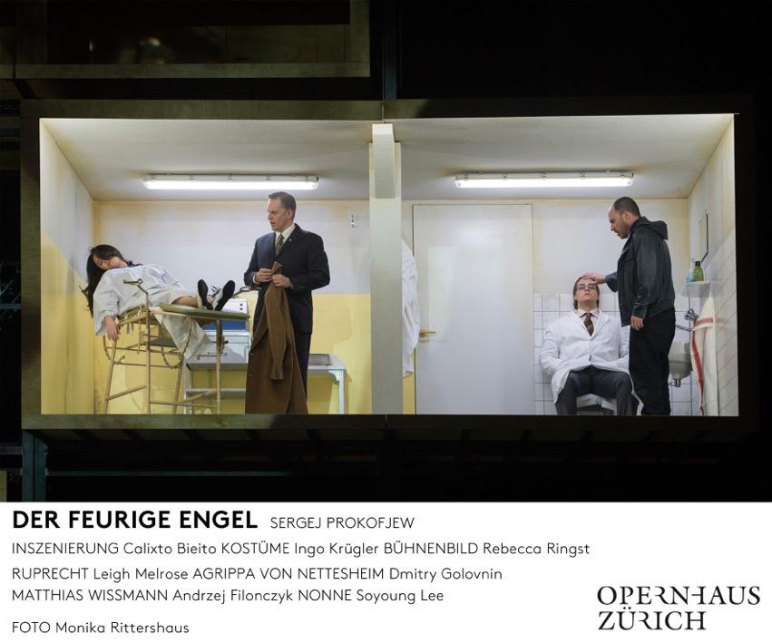 El Ángel de Fuego de Prokofiev en Zurich