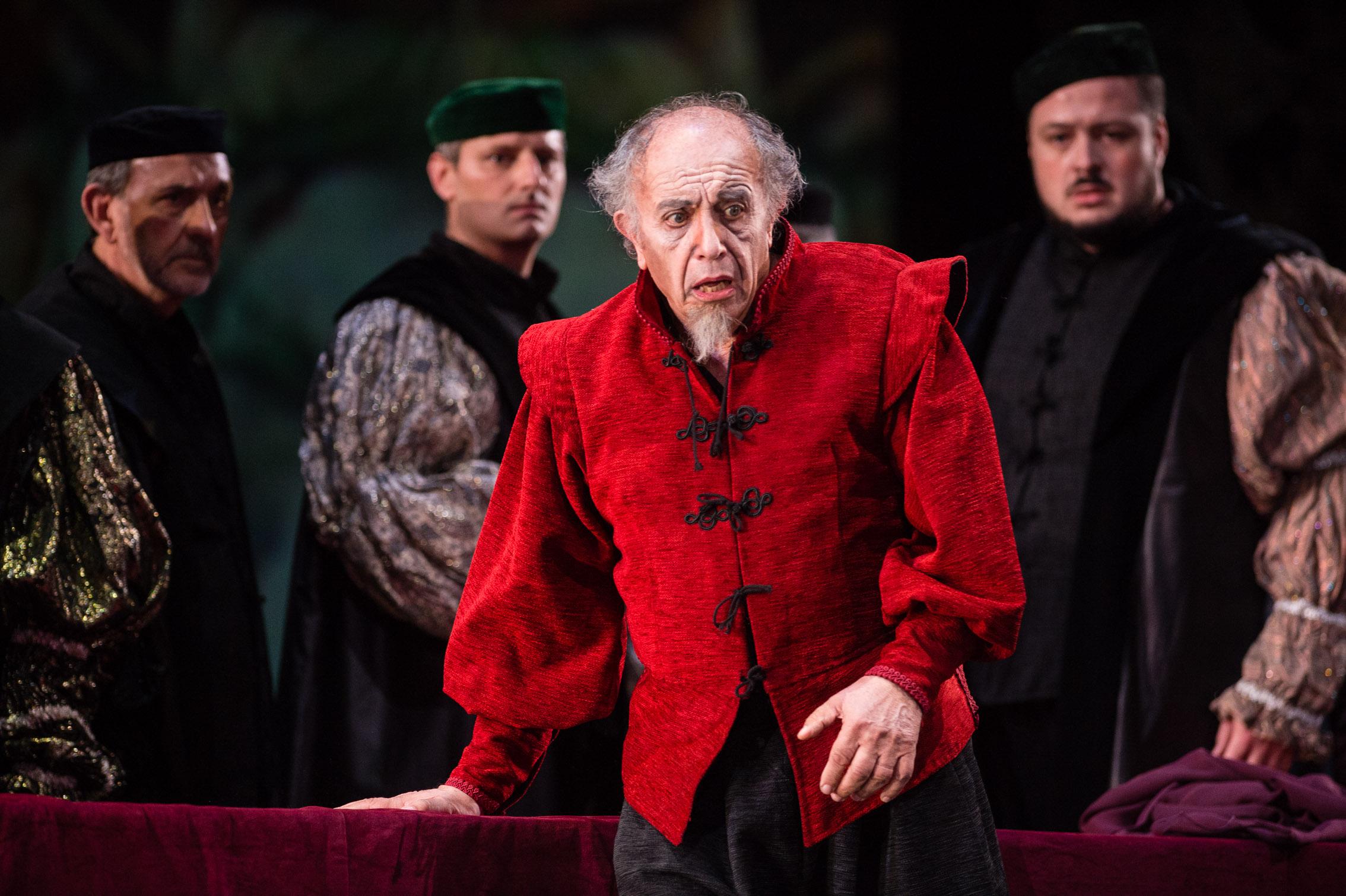 Tres grandes en el Rigoletto de Las Palmas