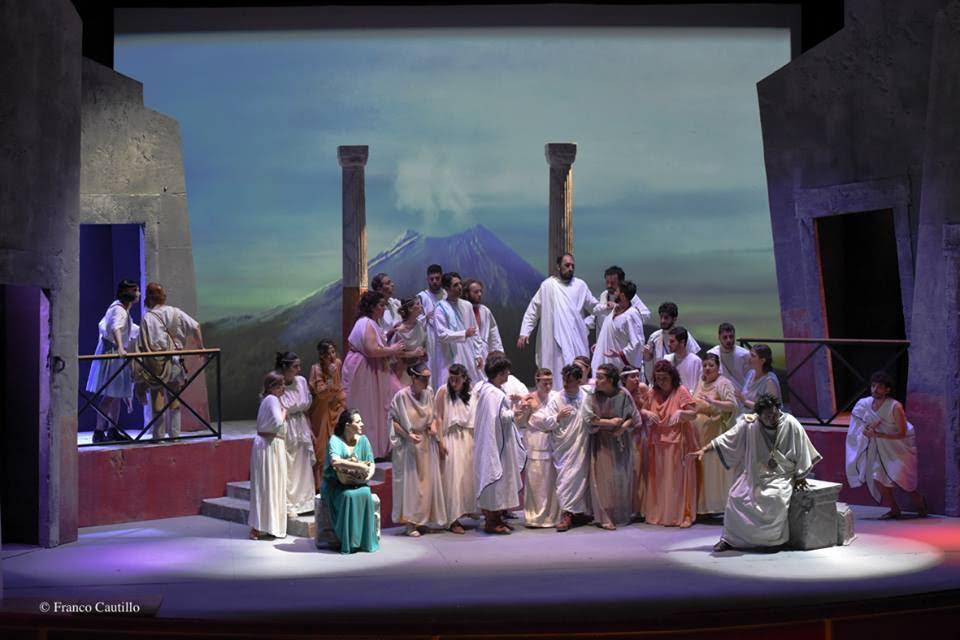 A Foggia in scena l'operetta Giove a Pompei composta a 4 mani da Umberto Giordano e Alberto Franchetti