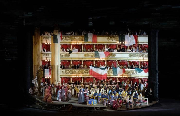 Nabucco inaugura la stagione dell'Arena di Verona