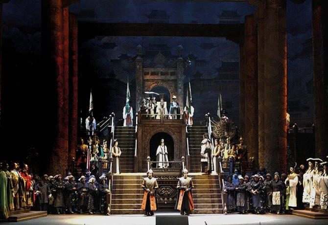 Turandot In scena al Carlo Felice di Genova