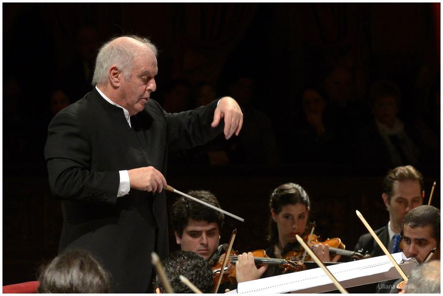 Daniel Barenboim triunfa en el Mozarteum Argentino
