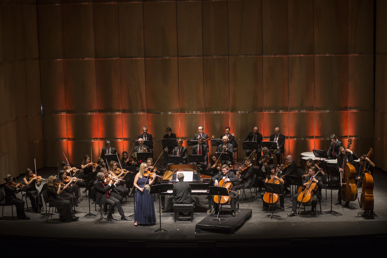 Orquesta de Cámara de Zurich. Foto: Enrico Fantoni