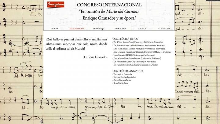 En ocasión de María del Carmen. Enrique Granados y su época