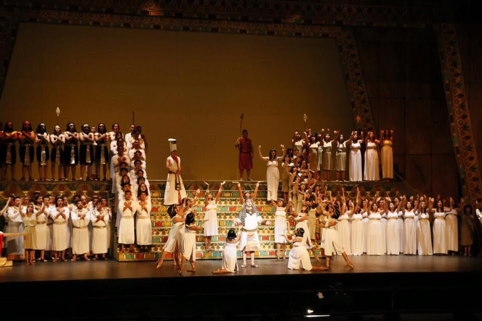 Aida en Toluca. Foto: Orquesta Filarmónica de Toluca.