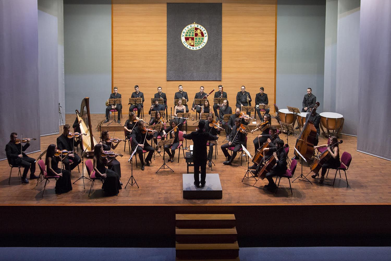Orquesta de la Universidad de Jaén. Foto: Fernando Mármol.