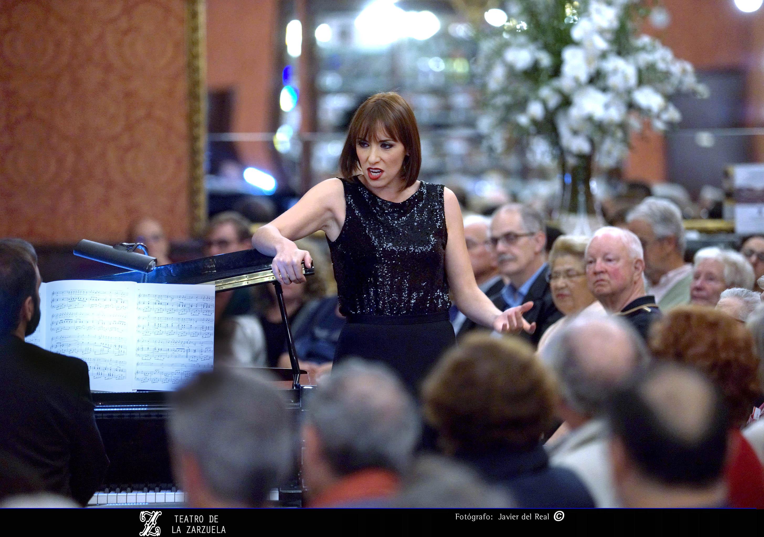 "Carmen Romeu y Rubén Fernández Aguirre: encantadora ""tarde francesa"" en la Zarzuela"
