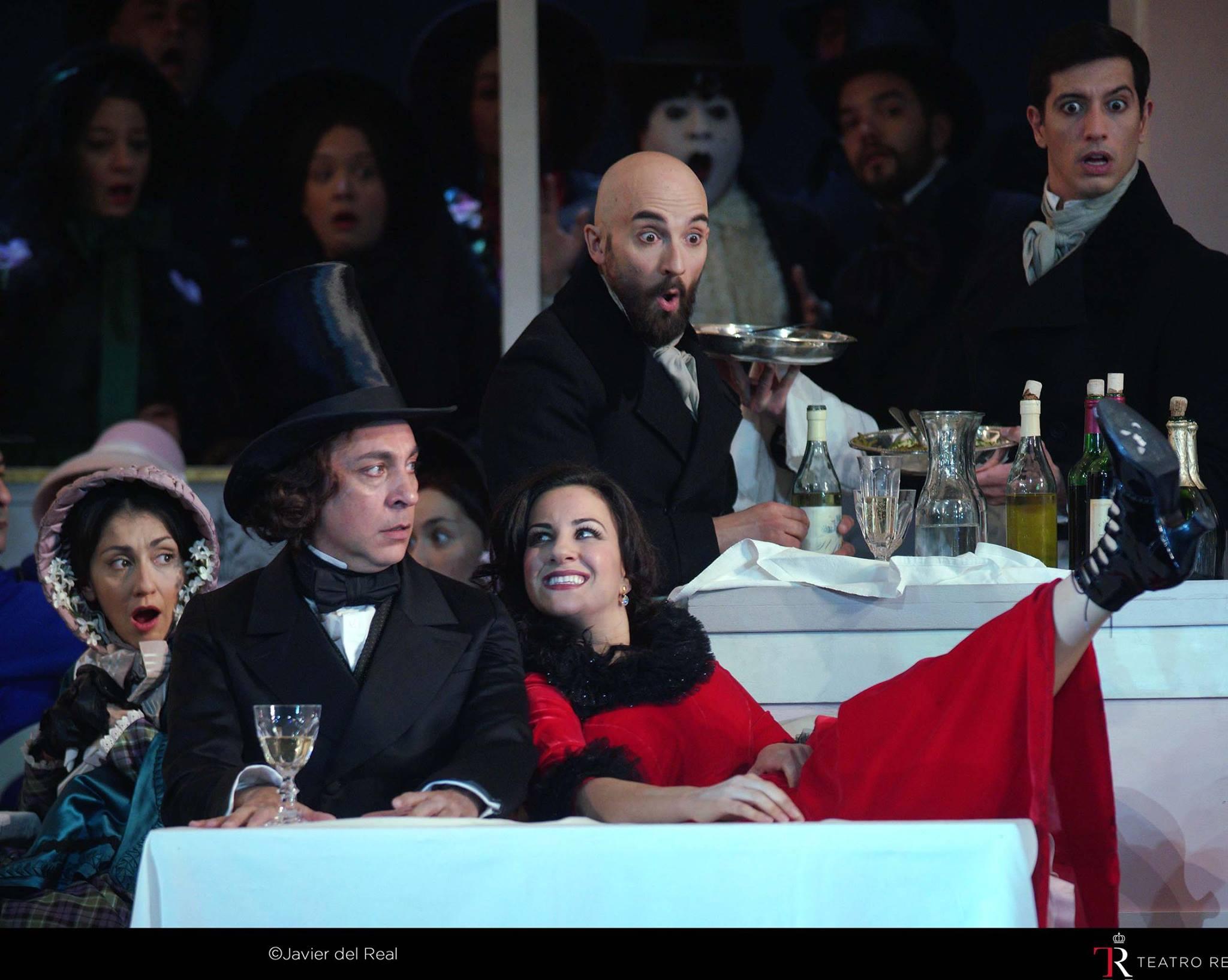 La bohème en el Teatro Real