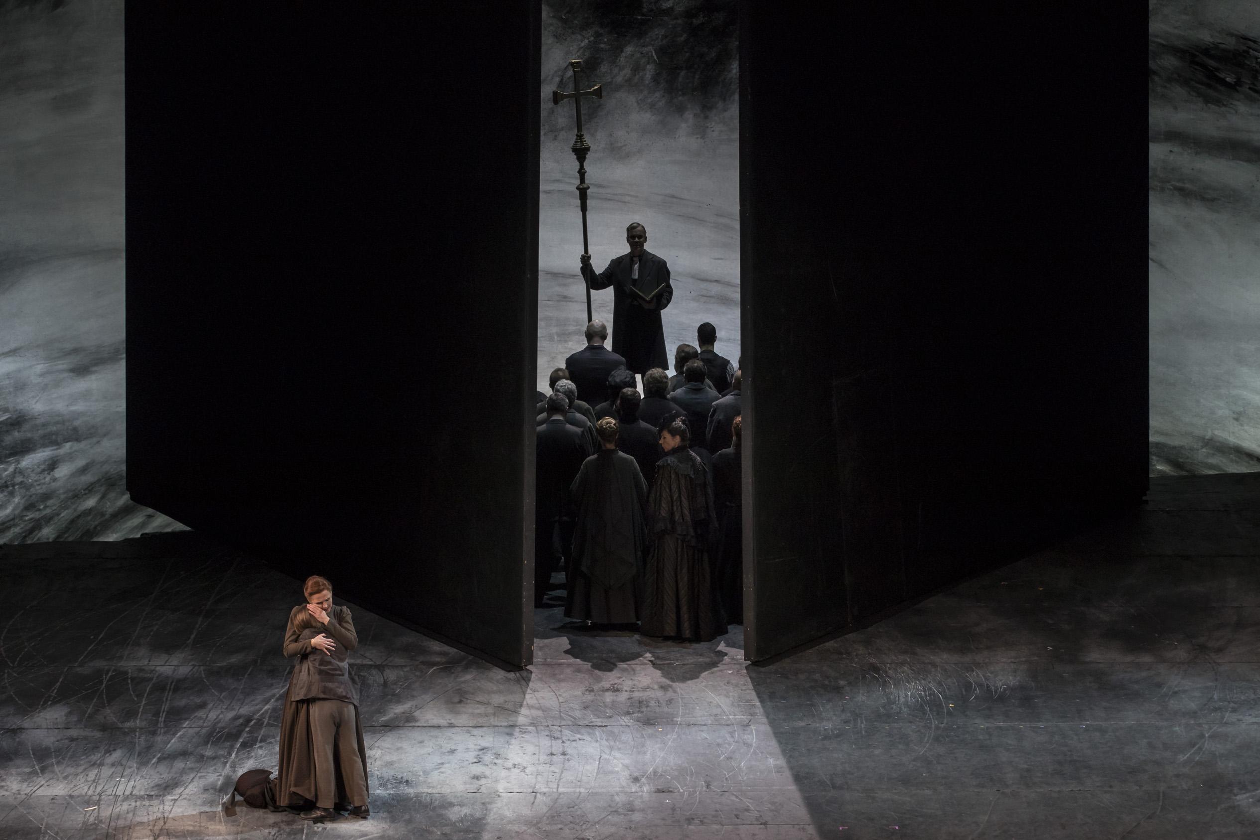 Peter Grimes de Benjamin Britten. Foto: Miguel Lorenzo / Mikel Ponce