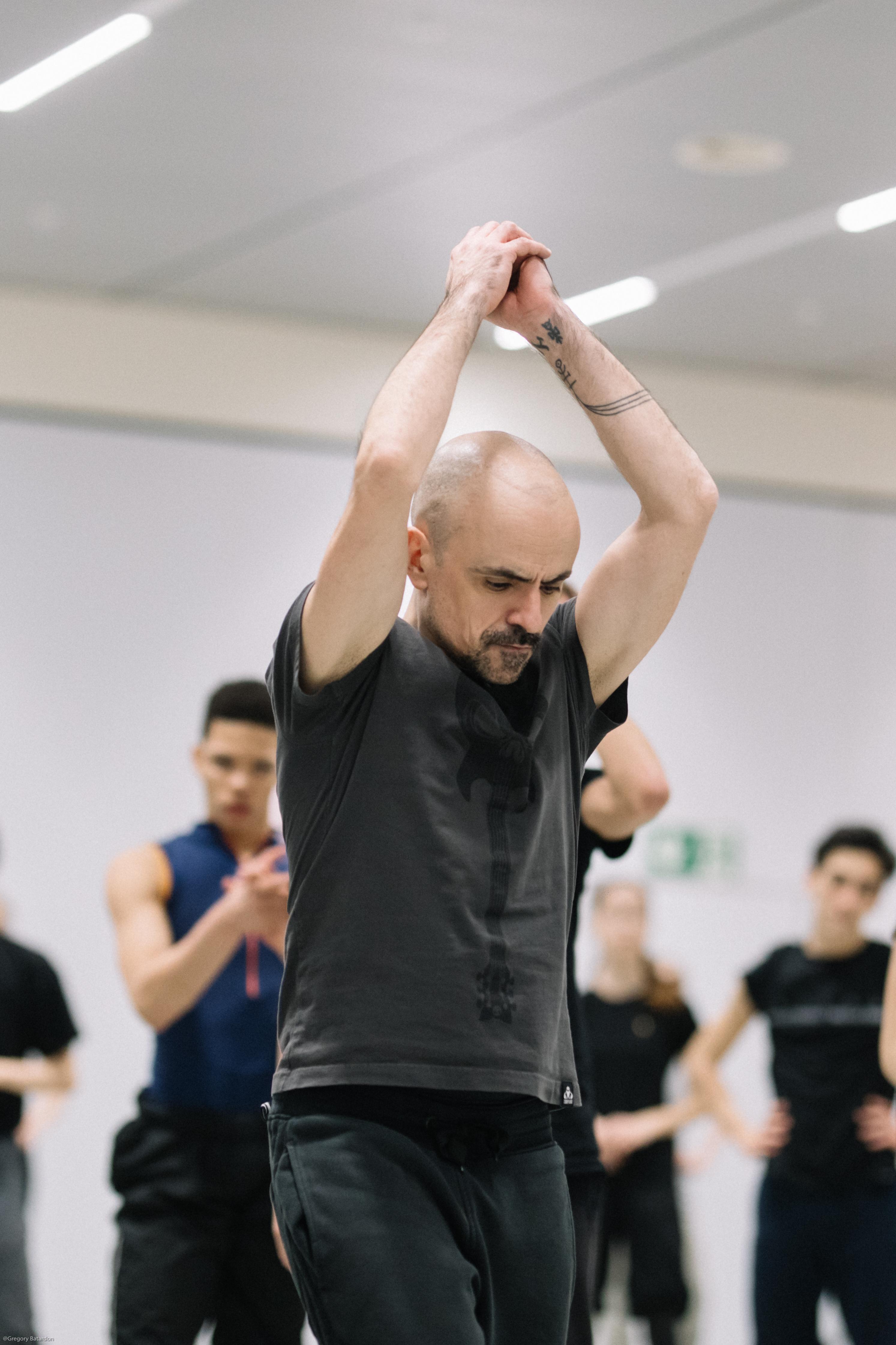 Goyo Montero director del Núremberg Ballet. Foto: Gregory Batardon.