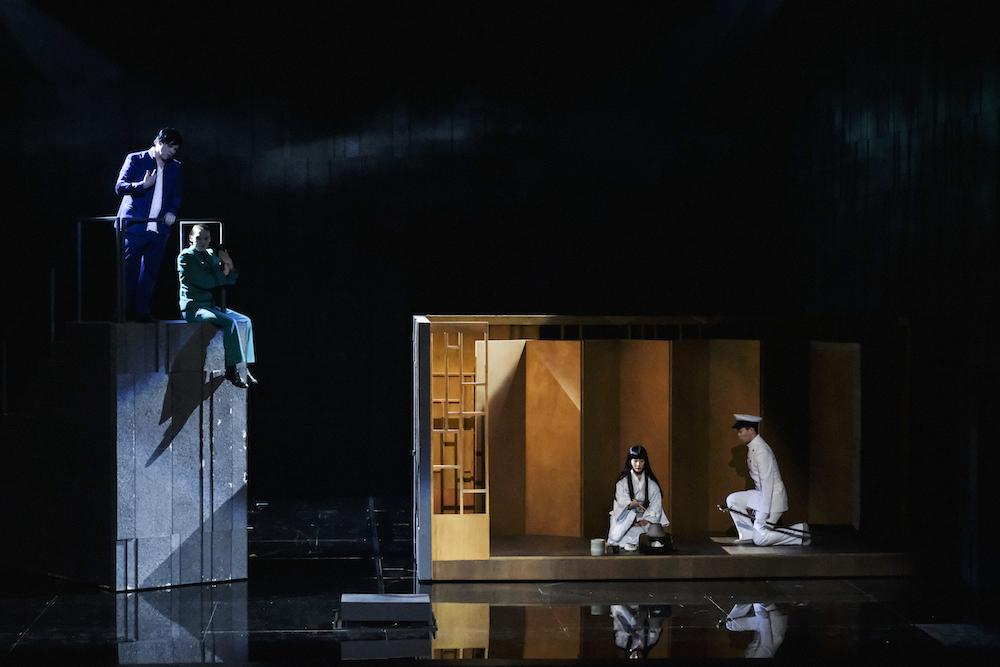 El pabellón de oro, de Mayuzumi, en la Opéra national du Rhin. Foto: Klara Beck