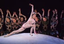 'Le songe' del Ballet de Montecarlo .Alice Blangero