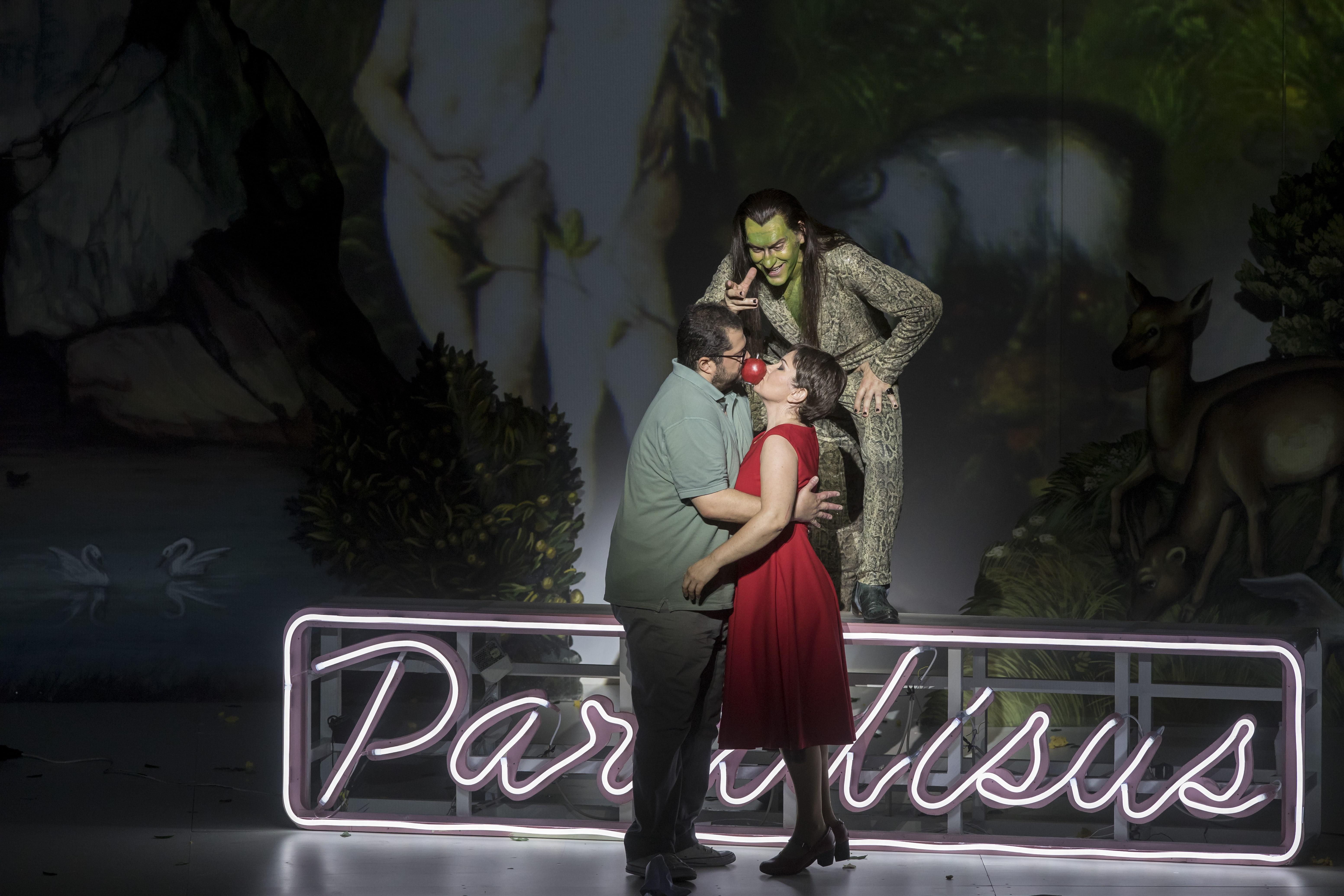 La Damnation de Faust, modernidad y exaltación en el Palau de les Arts. © Miguel Lorenzo y Mikel Ponce