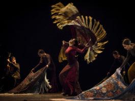 María Pagés y compañía en Una oda al tiempo. Foto: David Ruano