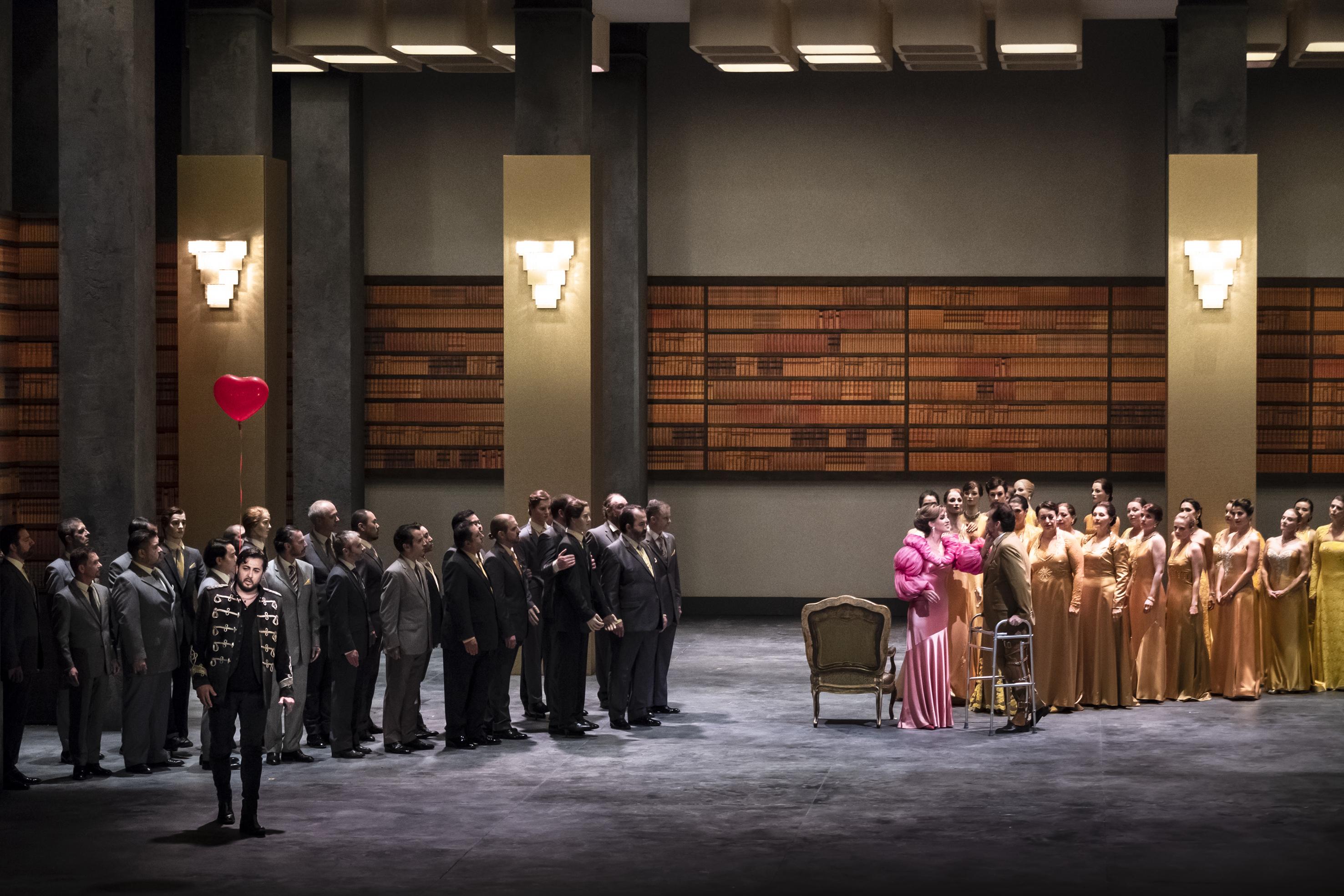 Eugenio Oneguin en la Opéra national du Rhin. Foto: Klara Beck