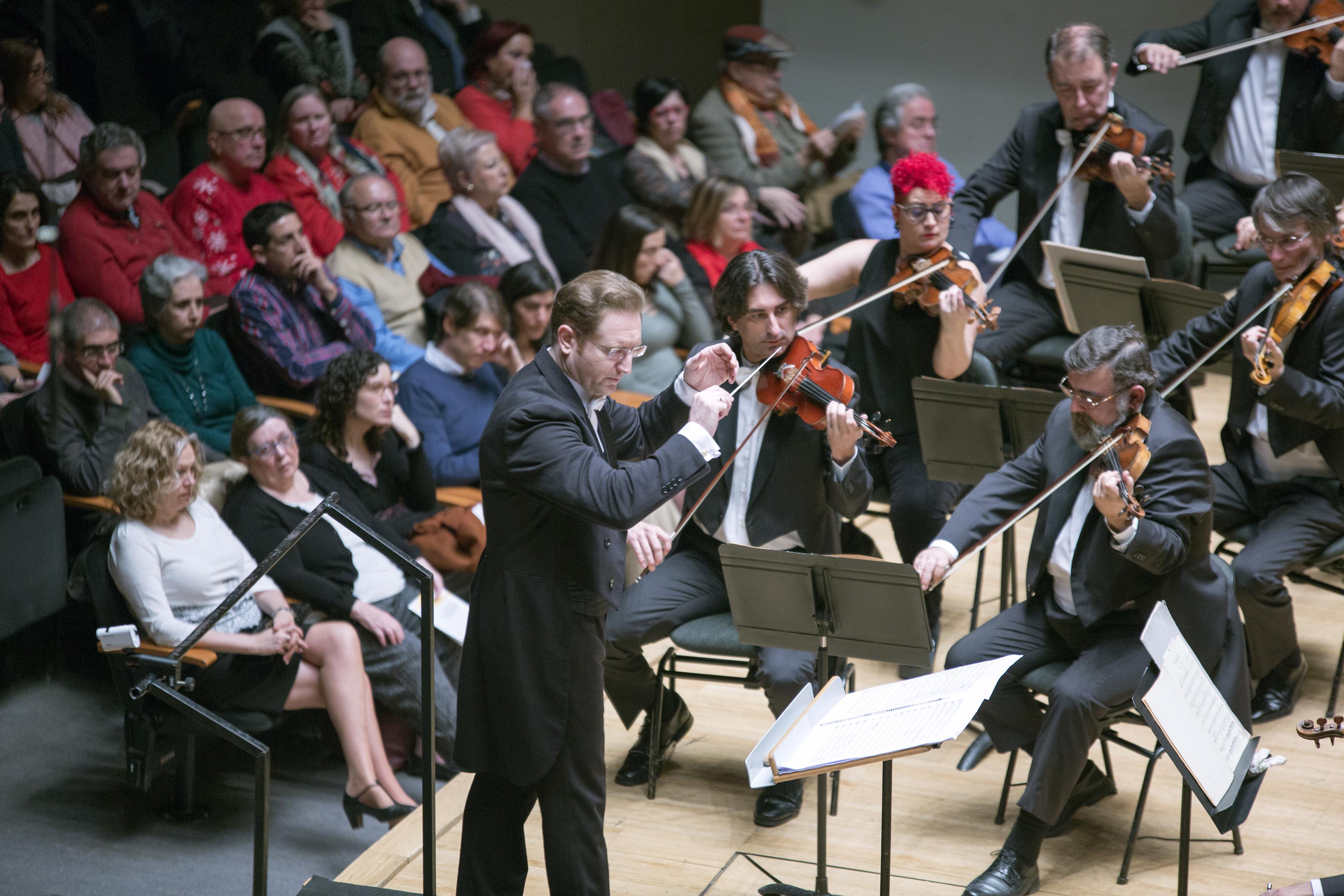 Sinfonismo operístico en el concierto de estío del Palau Valenciano