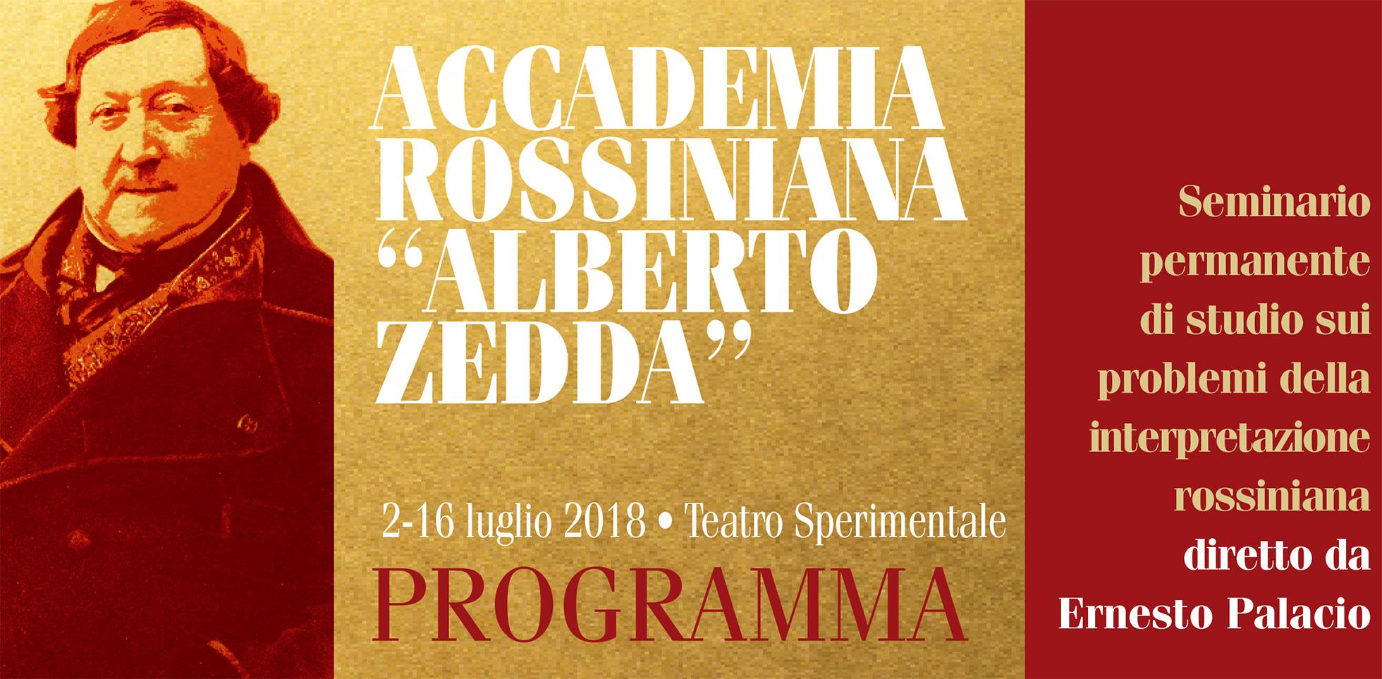 Tres españoles, un tenor y dos barítonos, en la Accademia Rossiniana Alberto Zedda 2018