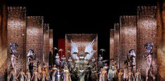 """Una Aida """"digital"""" en la Opera de Sidney. Foto: Prudence Upton"""