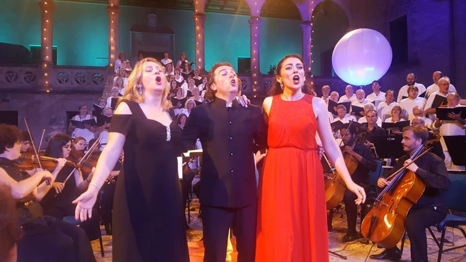 Banda municipal de Palma julio 2018 Grandes coros de opera y zarzuela