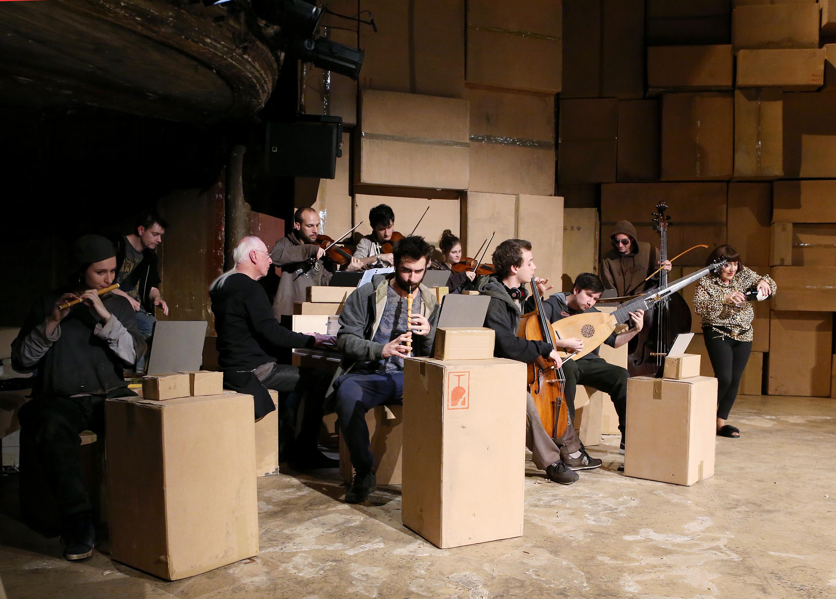 The Beggar's Opera al Teatro Coccia Novara. Foto: Patrick Berger