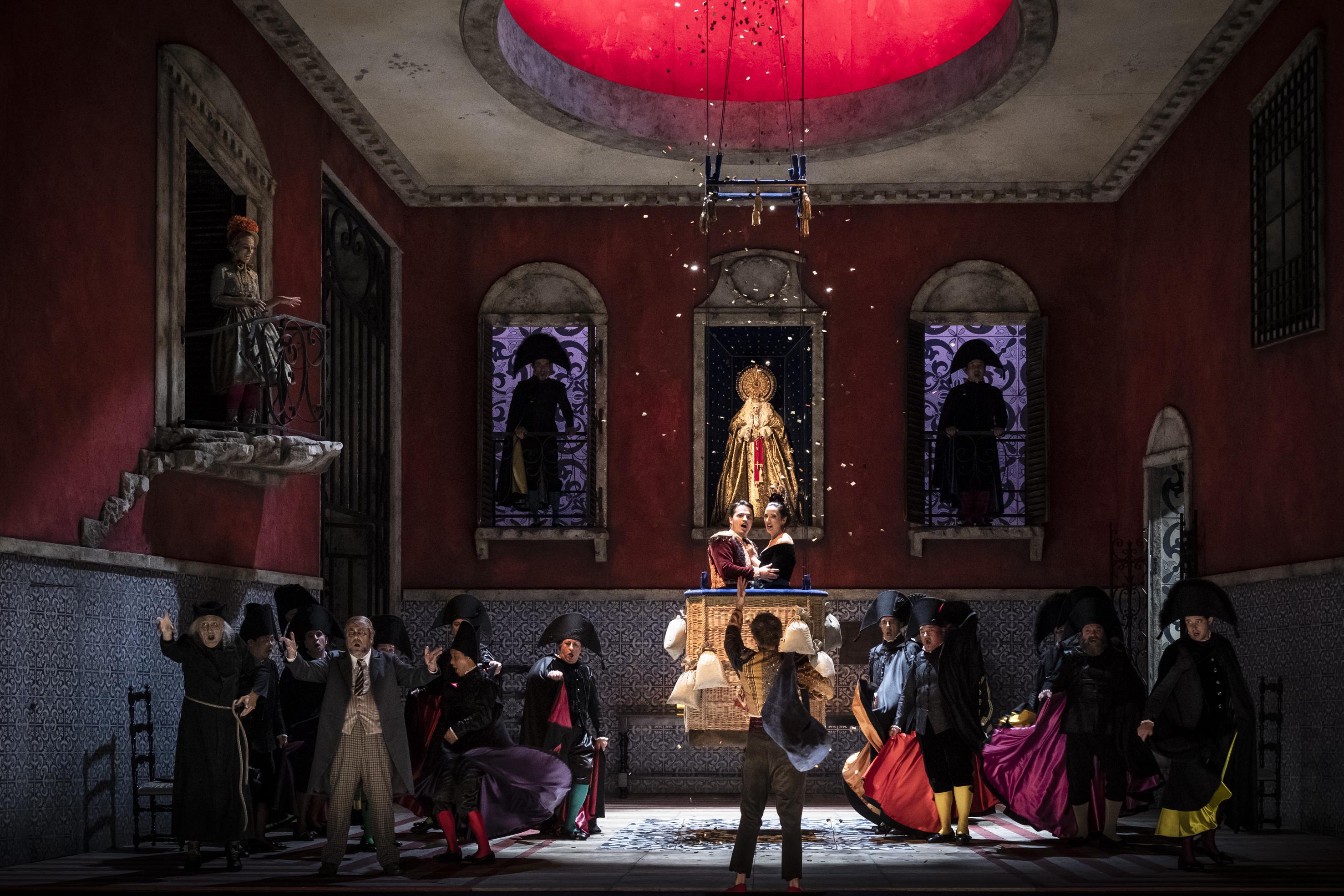 Barbero de Sevilla en la Opéra national du Rhin. Foto:Klara Beck.
