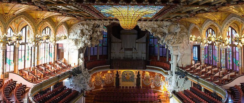 Palau de la Música Catalana. Foto: Wikipedia