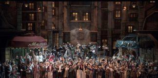 """""""La bohème"""" en el Teatro Colón de Buenos Aires"""