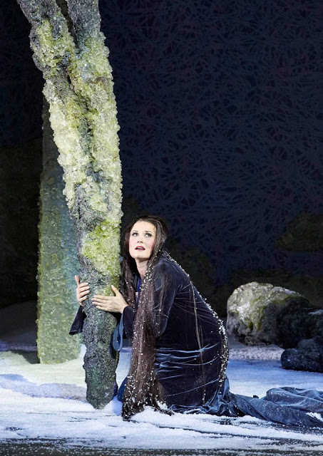 Camilla Nylund(Rusalka)© Wiener Staatsoper / Michael Pöhn