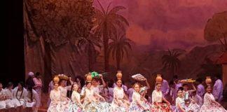 Escena de la zarzuela Lopi de Edgar Victor Torres Fleitas